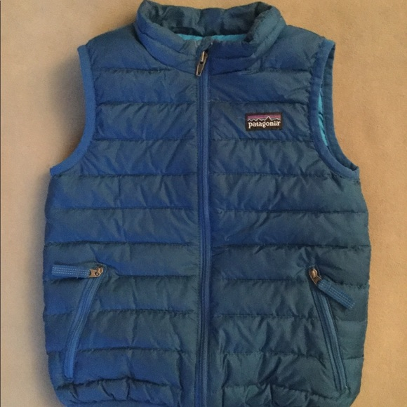 Patagonia Jackets Coats Boys Down Sweater Vest Sz3t Poshmark